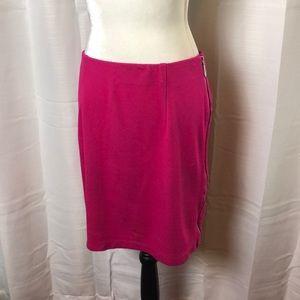 Vince Camuto Side Zipper Skirt